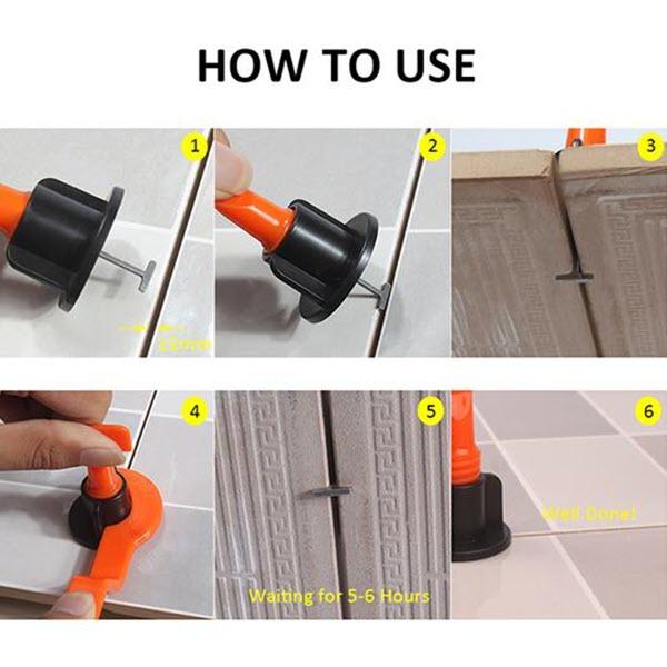 Easy Tile Leveling System4