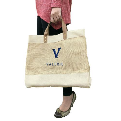 Personalised jute gift bag