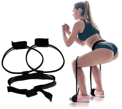 Fitness Women Booty Butt Band Resistance Bands Adjustable Waist Belt for Legs and Butt Ankle Resistance Belt-trendymalldeals