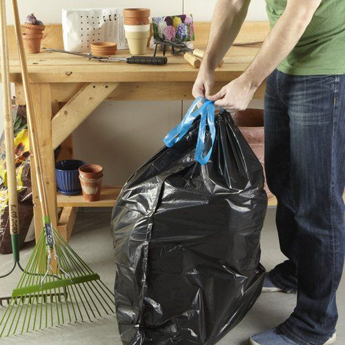 Hefty Strong Lawn /& Leaf Drawstring Trash Bags Extra Large 39 Gallon 38 Count